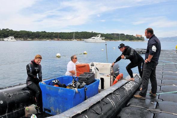 Ferme aquacole - Reportage plongeur.com