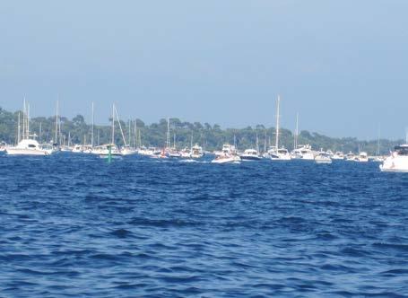 La pêche et la navigation de plaisance
