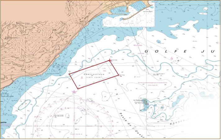 Zone maritime protegée - Secteur Vallauris