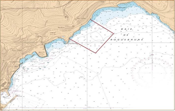 Zone maritime protegée - Secteur Roquebrune