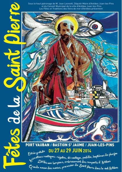 Fête de la St Pierre à Antibes