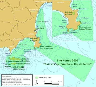 Carte des enlèvements des engins de pêche perdus